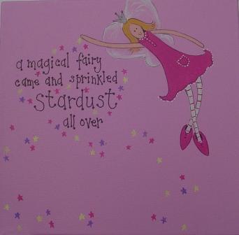 'Magical Fairy canvas' - painting