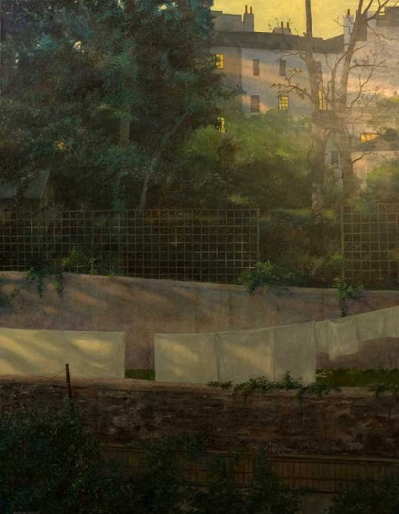 sunlight on the garden - artwork