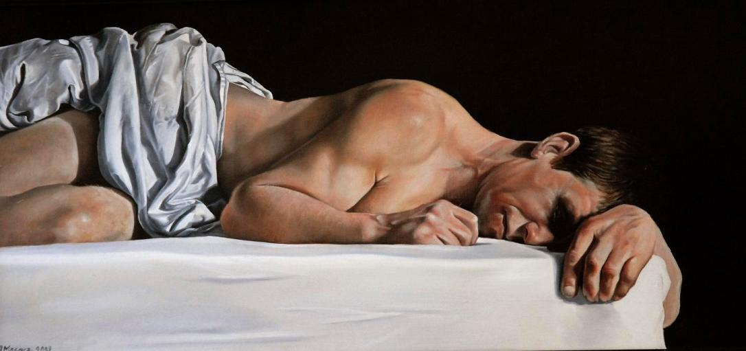 'The Absence Of Adam' - oil painting