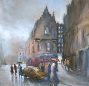 Cockburn Street by  Maureen Monteath