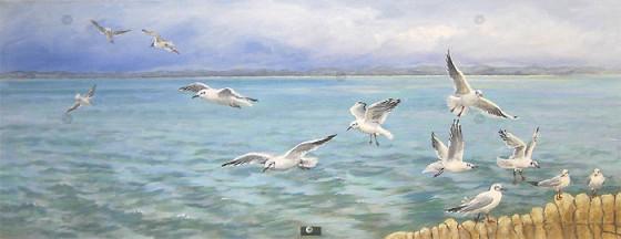 Seagull's Flight by Sandra Francis