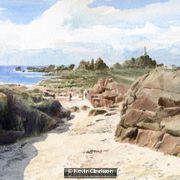 Corbiere Lighthouse Jersey CI by Kevin Clarkson