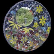 Midnight Garden Mirror by Katy Galbraith