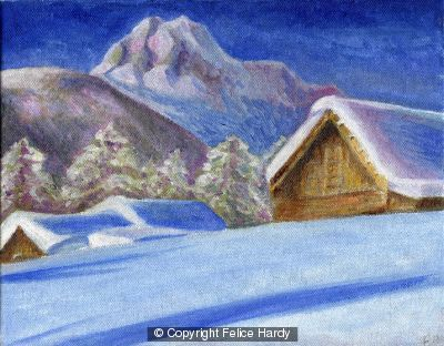 Lonesome Huts by Felice Hardy