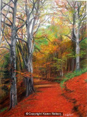 Autumn Colours I Torsonce by  Karen Nelson