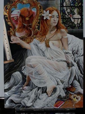 Charlotte of Shalott by Steven Paul Gamble