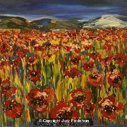 Poppy Field by Judy Foulsham
