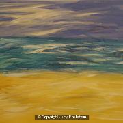 Large Seascape, Australia by Judy Foulsham