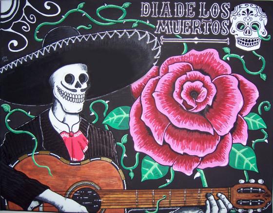 Dia De Los Muertos by Tom Wilson