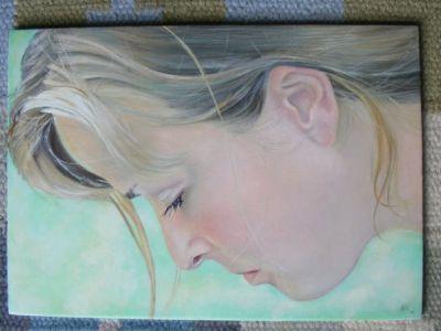 Self Portrait by Kellie Bremner