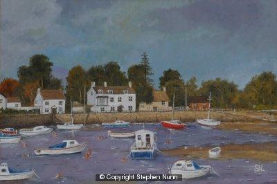 Cockwood Harbour by Stephen Nunn