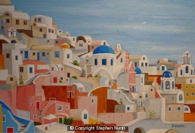 Ois Santorini by Stephen Nunn