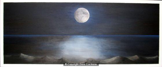 Moonscape by Drew Cochrane