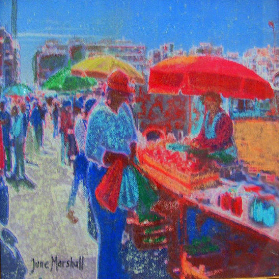 Algarve Market Day by June Marshall