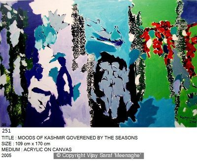 Moods of Kashmir Goverened by Seasons by Vijay Saraf 'Meenaghe'