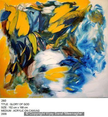 Glory of God by Vijay Saraf 'Meenaghe'