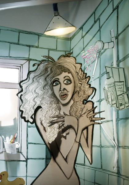 Paper Cut Shower by EllieMay Logan