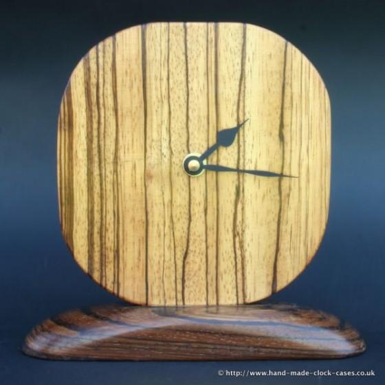 Zebrano Clock by David Rodgers