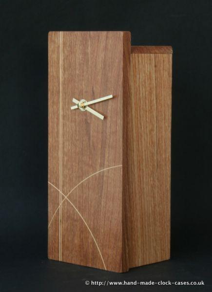 Oak Bauhaus Inspired Clock by David Rodgers