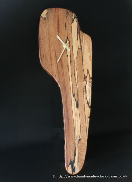 Spalted Beech Wall Clock by David Rodgers