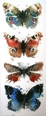 KO.41 Butterflies Moths 5 by Artist Kate Osborne