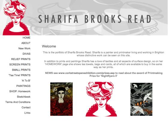Artwork by Sharifa Brooks Read