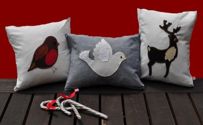 'Christmas Cushion Collection' by Lettie Belle