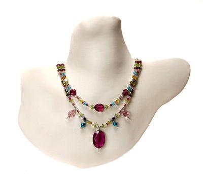 Multi-Colour Necklace by Mihaela Zhekova