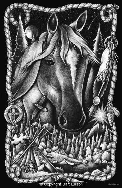 Pony Culture w/ Black Border by Bart Eason