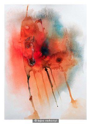 Warhorse (Castle on Horseback) by Lajos Varkonyi