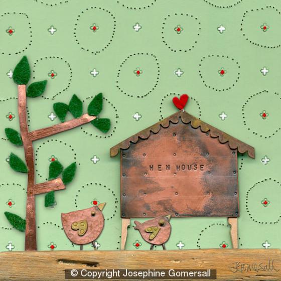 Hen House by Josephine Gomersall