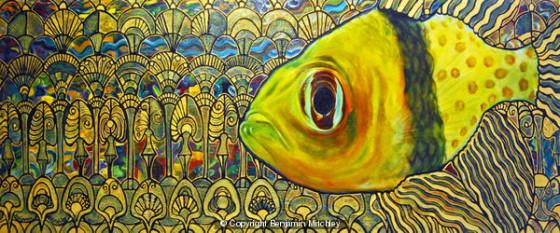 Pajama Cardinal Fish by Benjamin Mitchley
