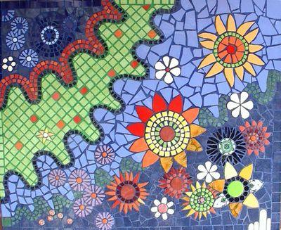 Mosaic Image by Christine Lloyd Walker