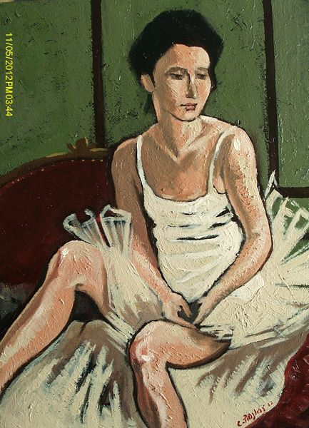 Dreaming Ballerina by Carl Ansloos
