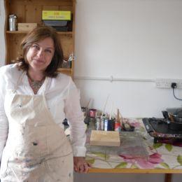 Artist workshop by Tiffany Logan