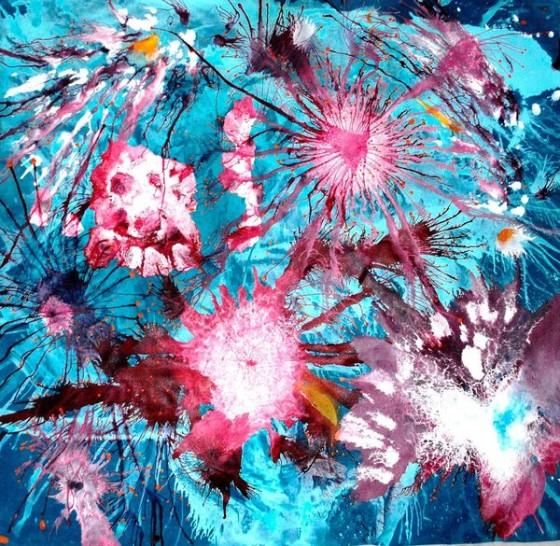 Exploding Flora by Sumit Mehndiratta