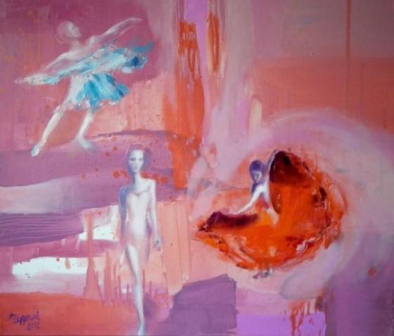 Three Ladies by Anna Zygmunt