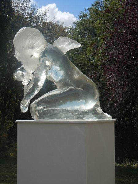 Kneeling Angel by Jane Robbins