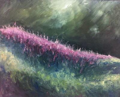 Willowherb by Rupert Aker