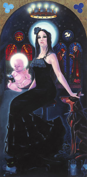 Madonna of the iPhone by James Alexander