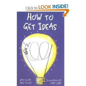 """Cover image of """"How to get ideas"""""""