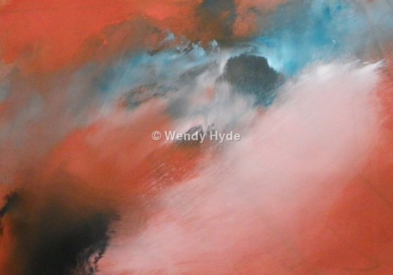 Abstract Skyscape by Wendy Hyde