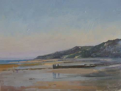 Cromer Cliffs, September by  Karl Terry