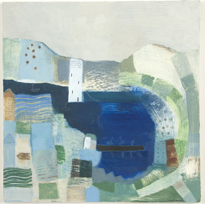 Harbour Wall by Fiona Morrison