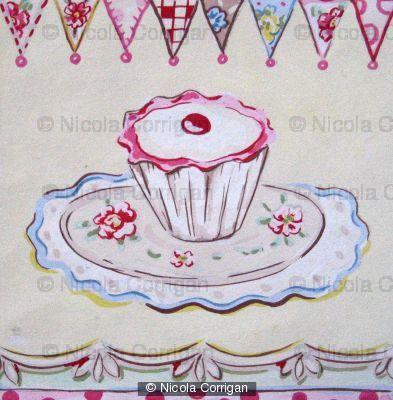 Cake Cherry by Nicola Corrigan
