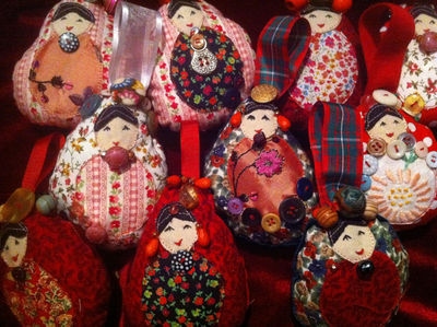 Babushka Ladies by Nicola Corrigan