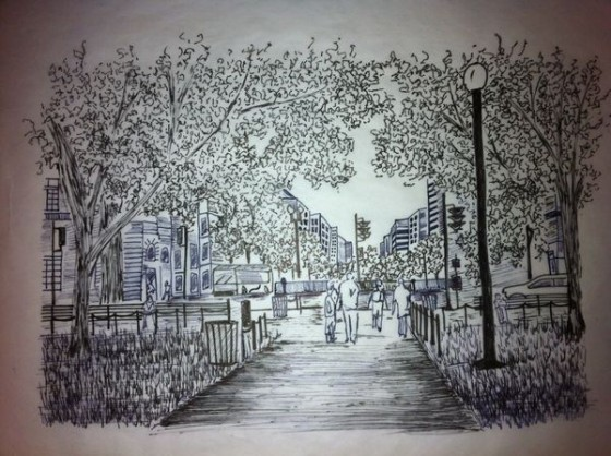 Artwork by Kalene