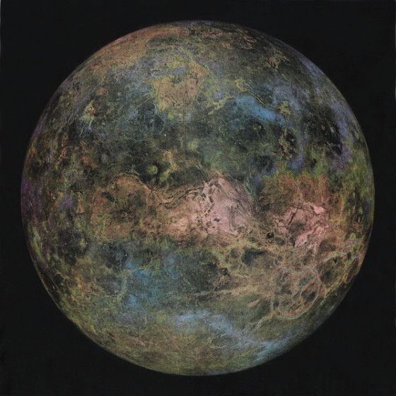 Virtual Renditions of Venus by Luci Eldridge