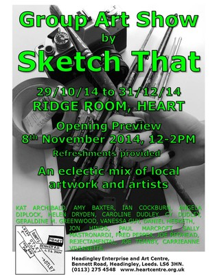 Sketch That Group Art Show