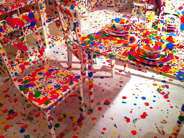 The Obliteration Room | Photo by Andrea via Flickr